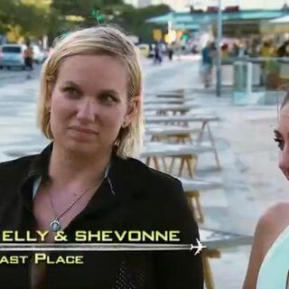 Kelly & Shevonne were eliminated from the race at 11th place despite completing the Detour they've been struggling on.