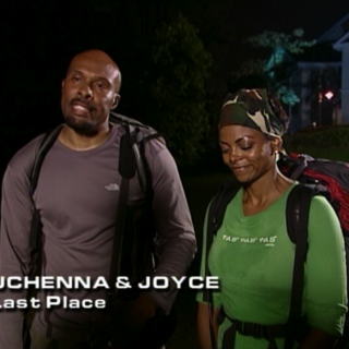Uchenna & Joyce were eliminated in 5th place.