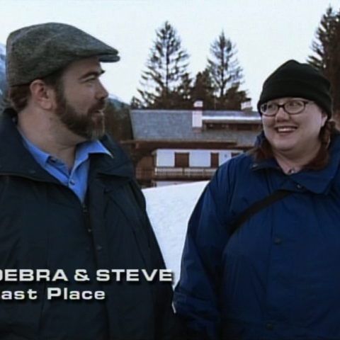 Debra & Steve were eliminated from the race in 12th place.