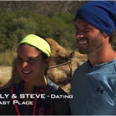 Aly & Steve were eliminated from the race in 6th Place.