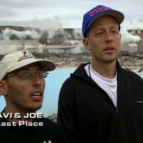 Avi & Joe were eliminated from the race in 11th place.