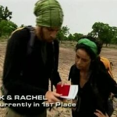 TK &amp; Rachel read the clue for the <a href=