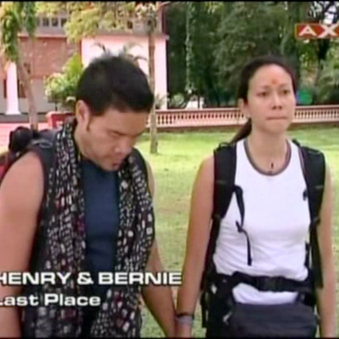 Henry & Bernie were eliminated from the race in 5th Place.