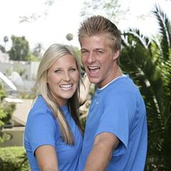 An alternate promotional photo of Meghan &amp; Cheyne for <i>The Amazing Race</i>.
