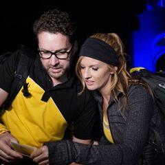 Burnie &amp; Ashley reading the <a href=