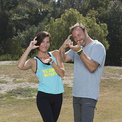An alternate promotional photo of Logan &amp; Chris for <i>The Amazing Race</i>.