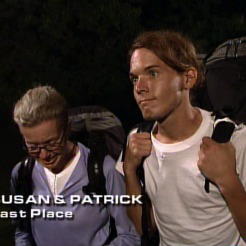 Susan & Patrick were eliminated from the race in 8th place.