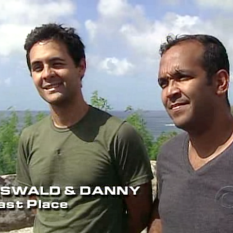 Oswald & Danny were eliminated from the race in 4th Place for the second time.