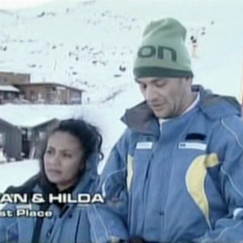 Ivan & Hilda were eliminated from the race in 7th Place.