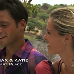 Max & Katie have arrived last in Leg 6.