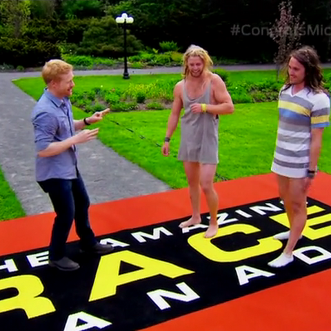 Mickey & Pete are the winners of The Amazing Race Canada 2