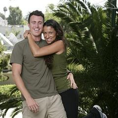 An Alternate promotional photo of Garrett &amp; Jessica for <i>The Amazing Race</i>.