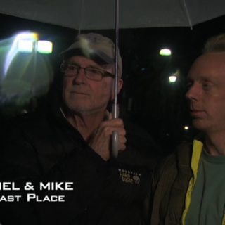 Mel & Mike were eliminated from the race in 10th Place after suffering from hypothermia at the Detour.