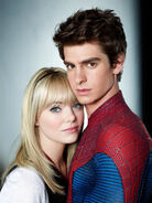 Gwen and Peter Spidey