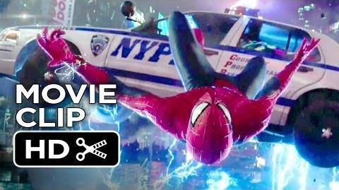 The Amazing Spider-Man 2 Movie CLIP - Times Square Slow Motion Save (2014) - Movie HD