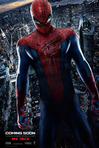 File:The Amazing Spider-Man fourth poster.png
