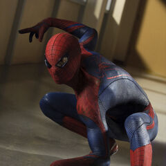 Spider-Man's never-before-seen suit.