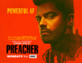 Preacher season 2 poster - Powerful AF.png