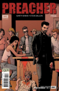 Variant cover of Preacher 1