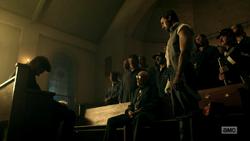 Odin and his men surround Jesse