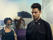 Preacher season 2 - Jesse, Cassidy, and Tulip