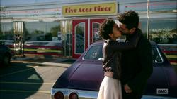 Jesse uses Genesis to make Tulip kiss him