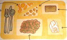 Cafeteria-food