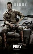 Fury (David Ayer – 2014) poster 3