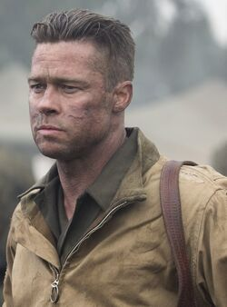 Don Collier played by Brad Pitt