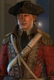 George Washington voiced by Tod Fennell