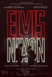 Elvis & Nixon (Liza Johnson – 2016) poster 2