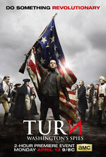 Turn - Washington's Spies Season 2 poster