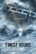 The Finest Hours (Craig Gillespie – 2016) poster