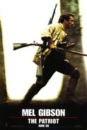 The Patriot (Roland Emmerich – 2000) poster