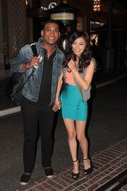Joshua-Ledet-and-Jessica-Sanchez-a-couple
