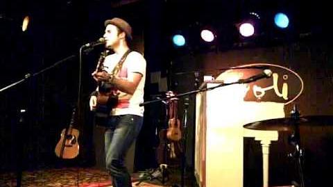 Kris Allen - No Boundaries Falling Slowly medley (Toronto, April 23, 2013 - The Rivoli)