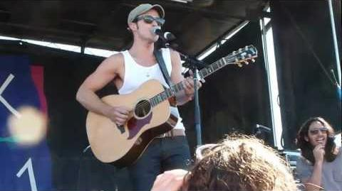 Kris Allen - Girl Pop Medley Back At One - Las Vegas - 4-21-2012