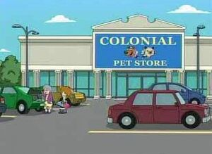 Colonial Pet Store