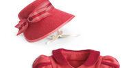 Caroline's Spencer and Hat