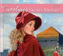 Caroline's Secret Message