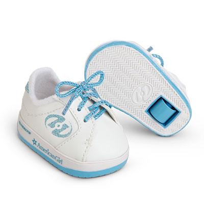 Light Blue Shoes Girl