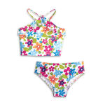 GirlsFloralSwimsuit