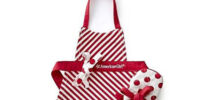 Holiday Doll Apron and Mitt (Williams-Sonoma)