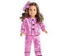 Rebecca's Satin Pajamas