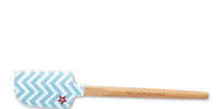 Blue Chevron Spatula (Williams-Sonoma)