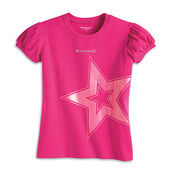 AGP BostonGlitterTee girls