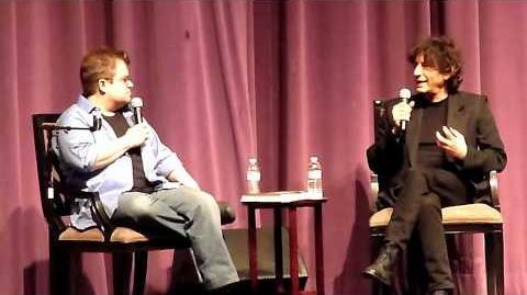 Neil Gaiman & Patton Oswalt @ Saban Theater in L.A. 6 28 11 pt3 of 6-0