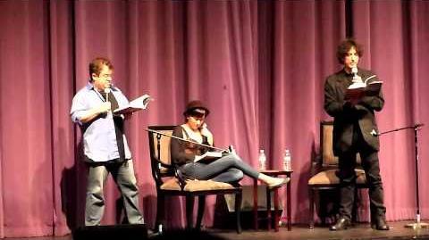 Neil Gaiman & Patton Oswalt @ Saban Theater in L.A. 6 28 11 pt4 of 6