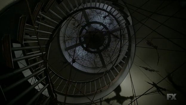 File:Roanoke house staircase with totems.png