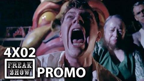 "American Horror Story Freak Show 4x02 Promo ""Massacres and Matinees"""